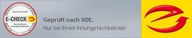 E-CHECK - geprüft nach VDE